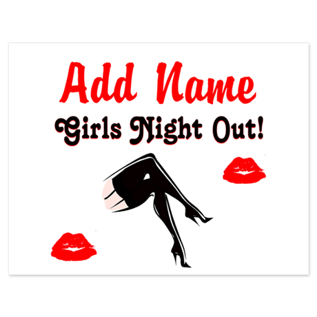 GIRLS NIGHT OUT 5.5 x 4.25 Flat Cards