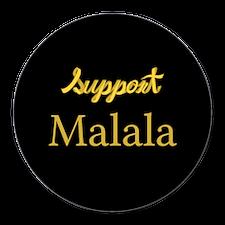 Unique Support malala Round Car Magnet