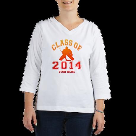Class Of 2014 Hockey Women's Long Sleeve Shirt (3/