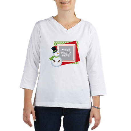 Personalized Christmas 3/4 Sleeve T-shirt