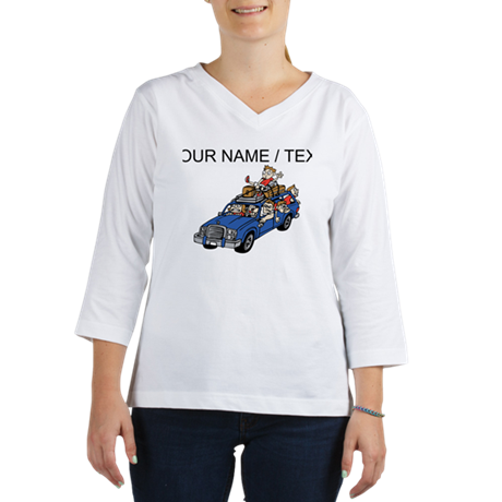 Custom Family Roadtrip Women's Long Sleeve Shirt (