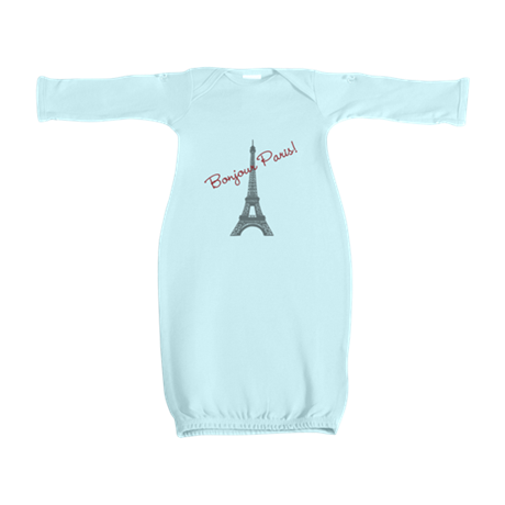 Eiffel Tower Baby Gown