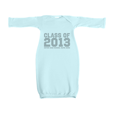 2013 Graduation Baby Gown