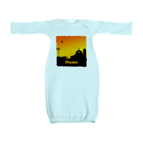 Sunrise at the Farm Baby Gown