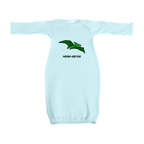 Name your own Pterodactyl! Baby Gown