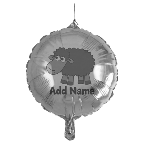 Add Name - Farm Animals Mylar Balloon