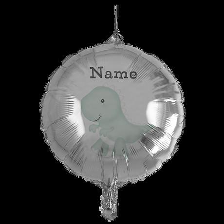 Personalizable T Rex Mylar Balloon