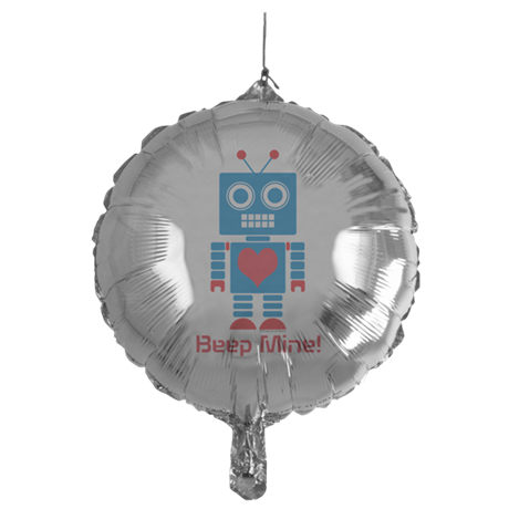 Beep Mine Robot Mylar Balloon