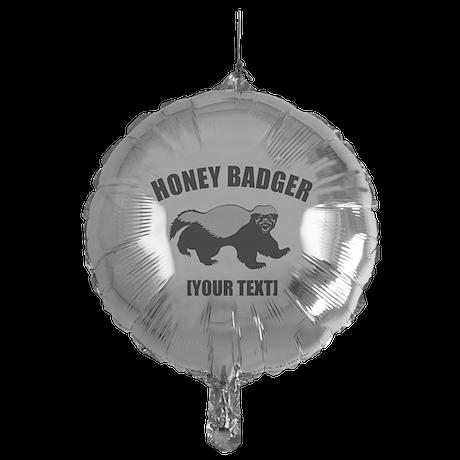 Honey Badger Custom Mylar Balloon