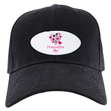 Valentine Puppy Black Cap