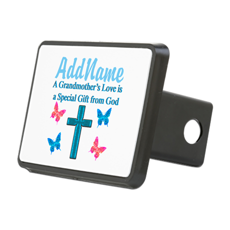ADORING GRANDMA Rectangular Hitch Cover