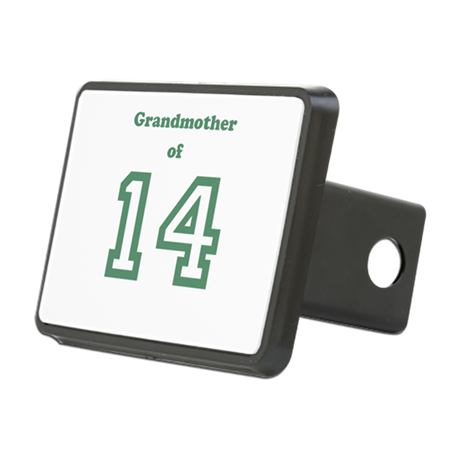 Personalized Grandmother Rectangular Hitch Cover