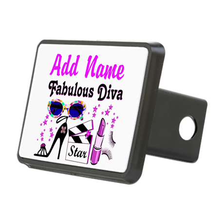 FABULOUS DIVA Rectangular Hitch Cover