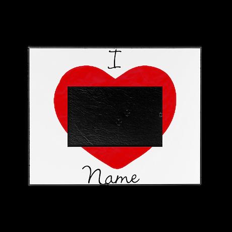 heart 1 girlie light Picture Frame