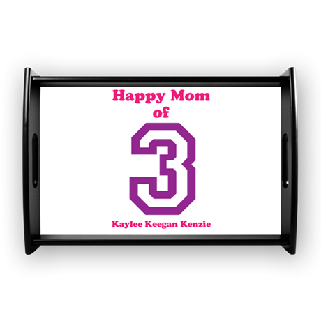 Personalized Mother Small Serving Tray