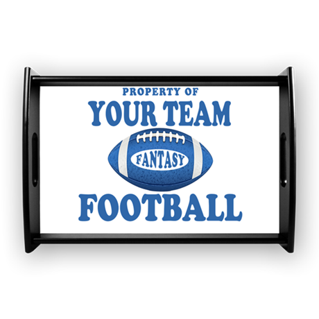 Property of Fantasy Your Team Blue Small Serving T