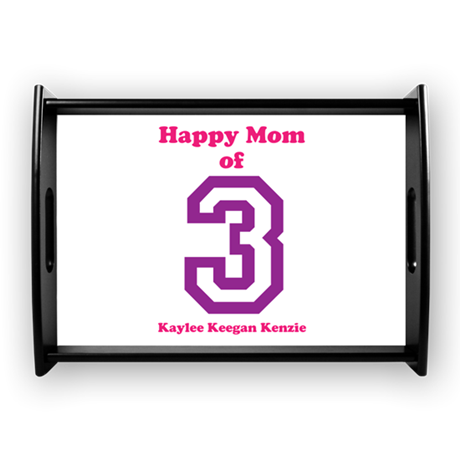 Personalized Mother Large Serving Tray