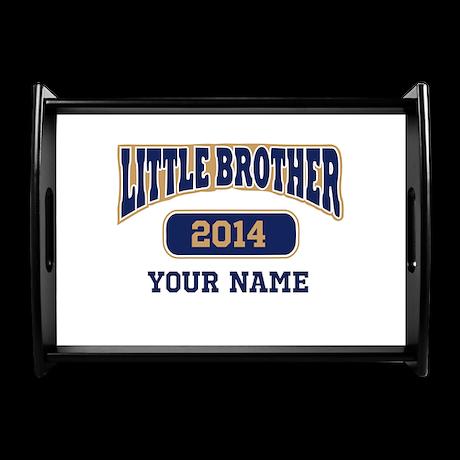 Custom Little Brother Coffee Tray