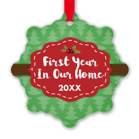 First Home Personalized Ornament