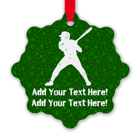Personalize It, Baseball Ornament