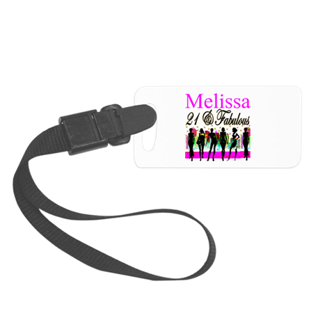 DAZZLING 21ST Small Luggage Tag