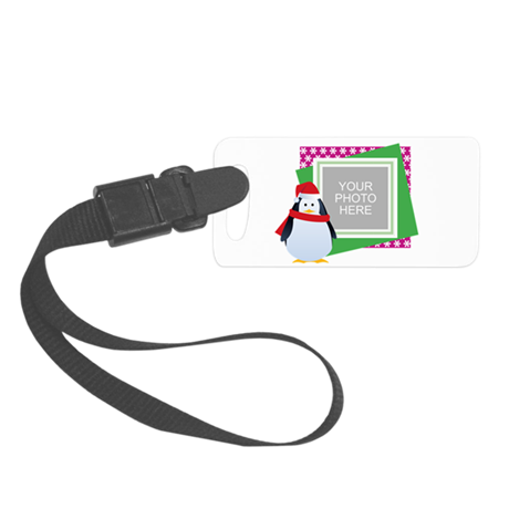 Personalized Christmas Small Luggage Tag