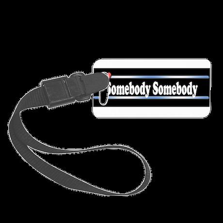 Custom Identity 2 line Small Luggage Tag