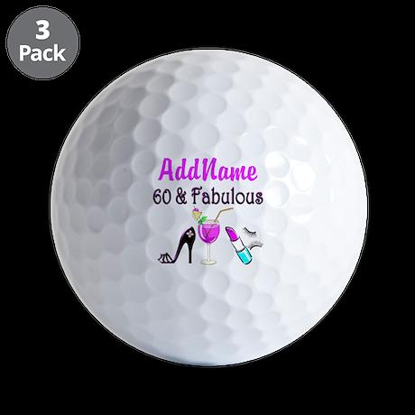 SUPERB 60 YR OLD Golf Balls