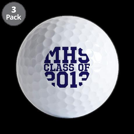 2013 Graduation Golf Balls