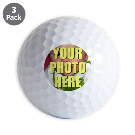Custom Photo Golf Balls