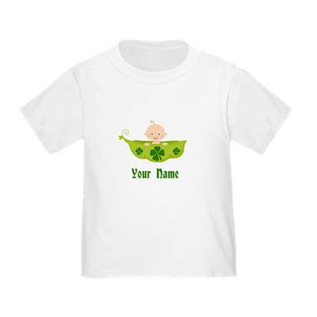 Personalized St Patricks Baby Toddler T-Shirt