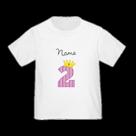 Personalized Princess 2 T-Shirt