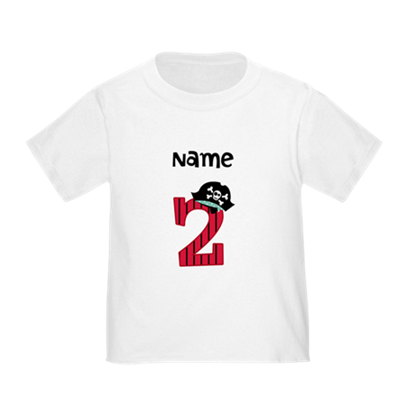Pirate Second Birthday T-Shirt