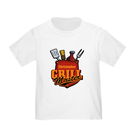 Pocket Grill Master Personalized Toddler T-Shirt