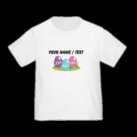 Custom Easter Eggs T-Shirt