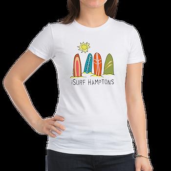 the hamptons t-shirt surfer