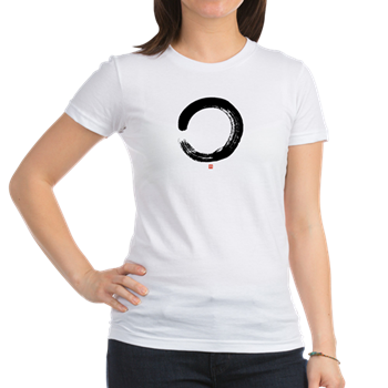 Zen Circle Women's Pink T-Shirt