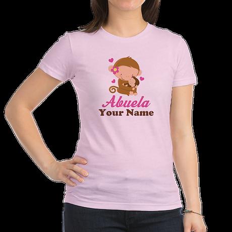 Personalized Abuela Monkeys Jr. Jersey T-Shirt