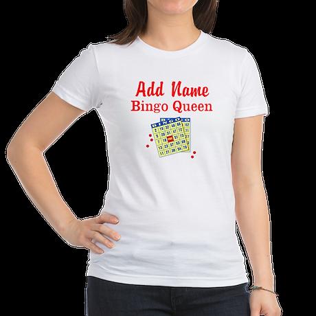 BINGO QUEEN Jr. Jersey T-Shirt