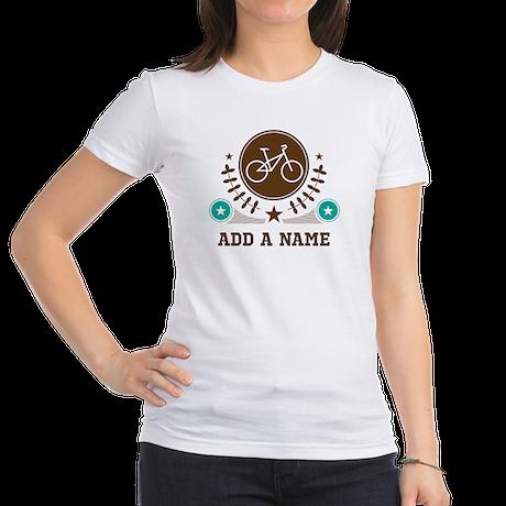 Personalized Biking Jr. Jersey T-Shirt
