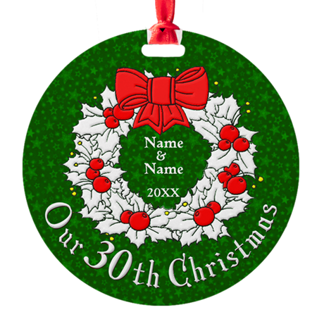 Our 30th Christmas Ornament