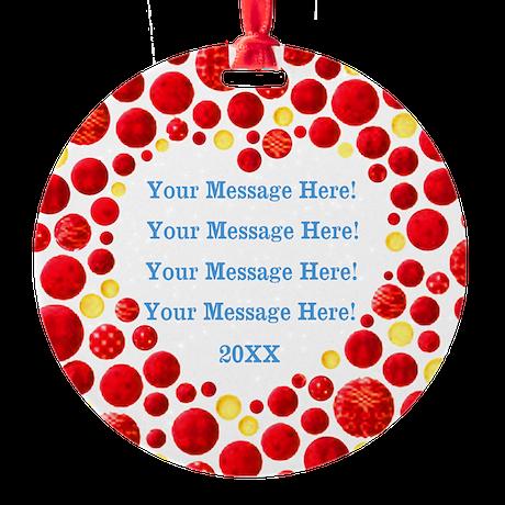 Personalize It Ornament