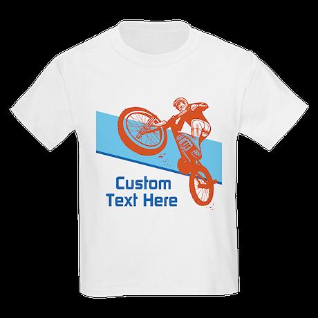 custom motocross bike design t shirt by custombikedesign