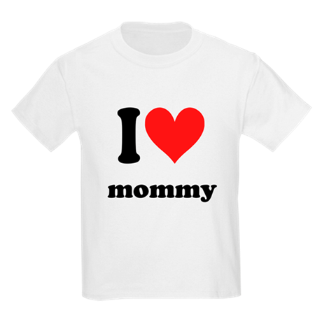 I Heart Mommy Kids Light T-Shirt