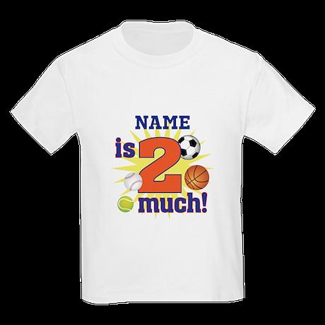 Custom Name 2 year old Kids Light T-Shirt