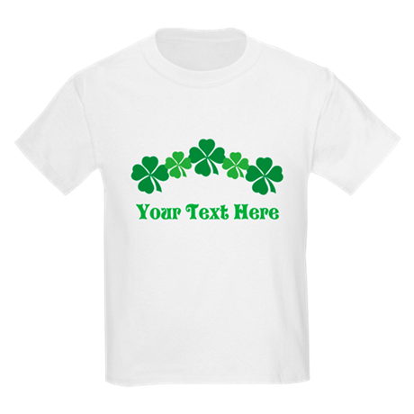 Irish St Patricks Personalized Kids Light T-Shirt