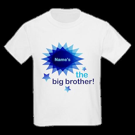 Custom Big Brother Kids Light T-Shirt