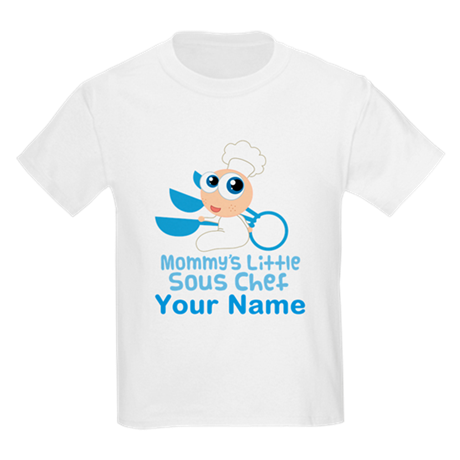 Personalized Sous Chef Kids Light T-Shirt
