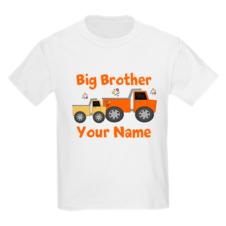 Big Brother Truck Kids Light T-Shirt