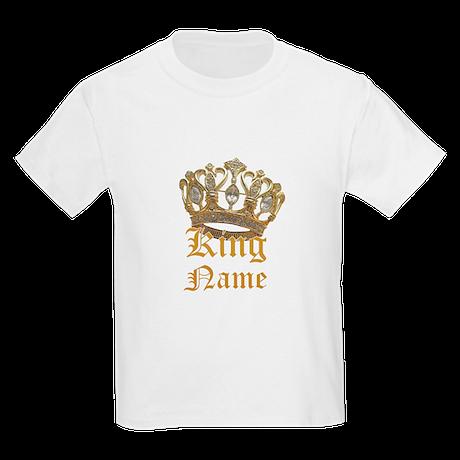 Custom King Shirt Kids Light T-Shirt